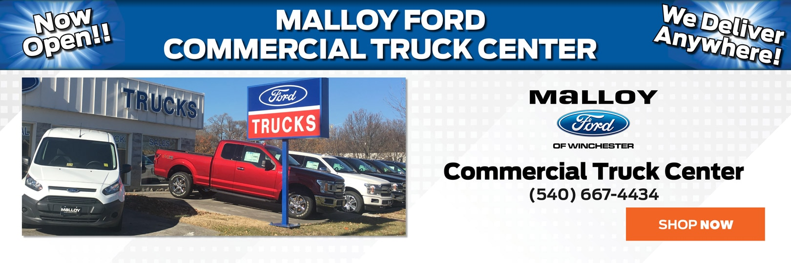 Malloy Ford Winchester Ford Dealership Winchester VA Near - Nearest ford dealership