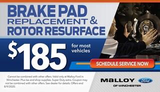 Brake Pad and Rotor Resurface