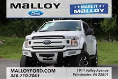New 2018 Ford F-150 XLT Truck 1FTEW1E5XJFD55576 for sale at your Charlottesville VA used Ford authority