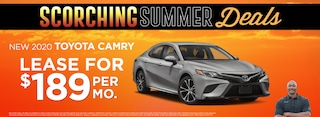 Camry  Lease $189 Per month