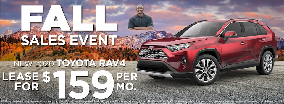 RAV 4 Lease $159 Per month