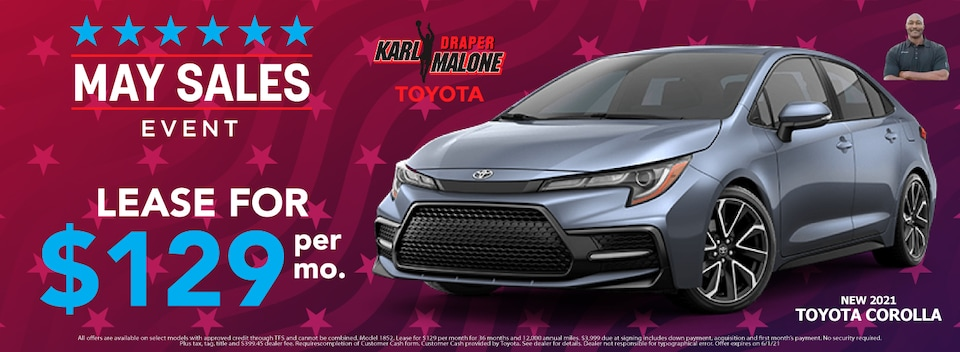 Lease $129 Per month New 2021 Models