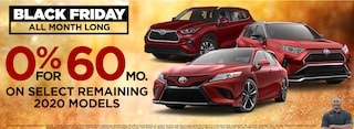 0% on Select remaining 2020 models* See dealer for details