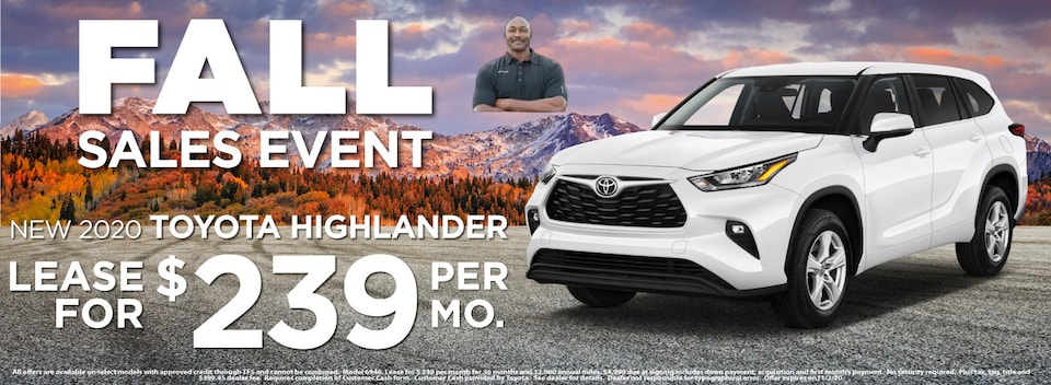 Highlander Lease $239 Per month