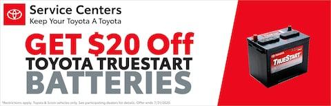 Toyota True Start Batteries