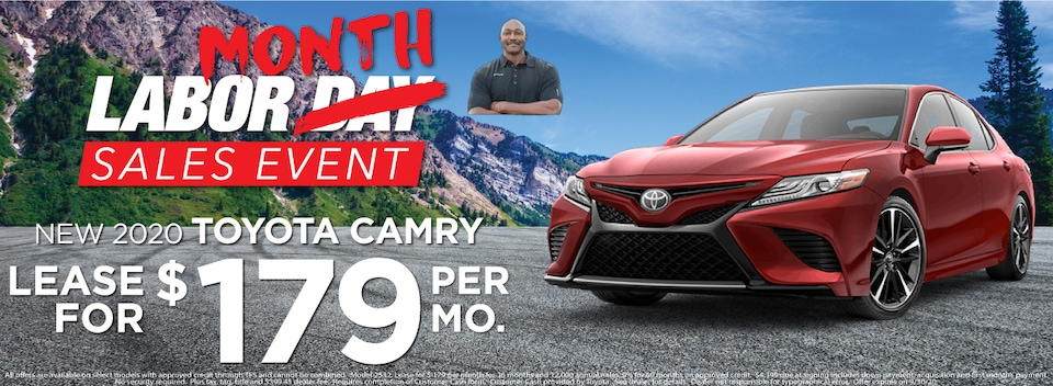 Camry  Lease $179 Per month