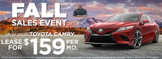 Camry  Lease $159 Per month