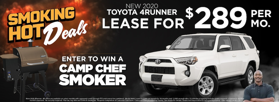 4Runner  Lease $289 Per month