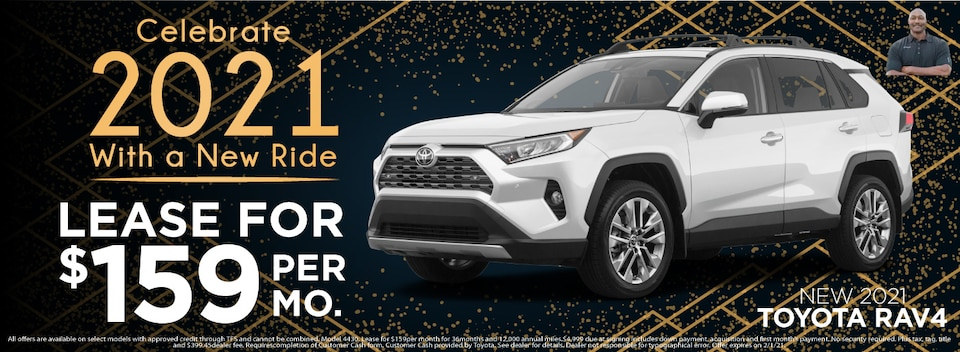 RAV 4 Lease $159 Per month