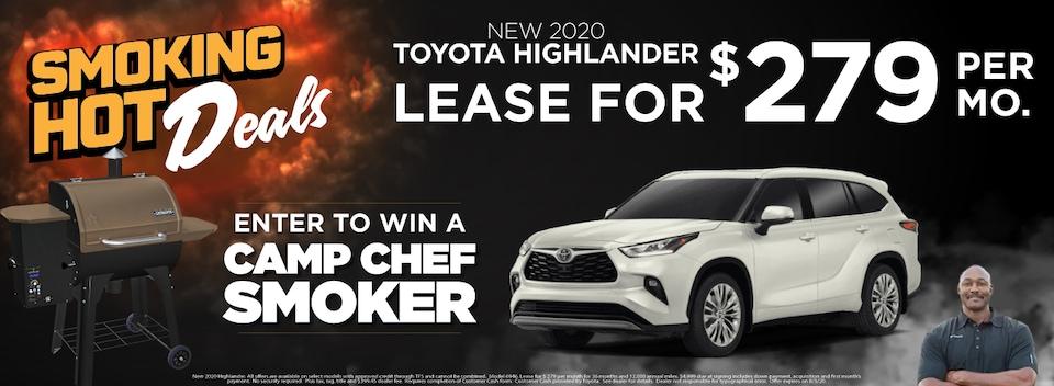 Highlander Lease $279 Per month