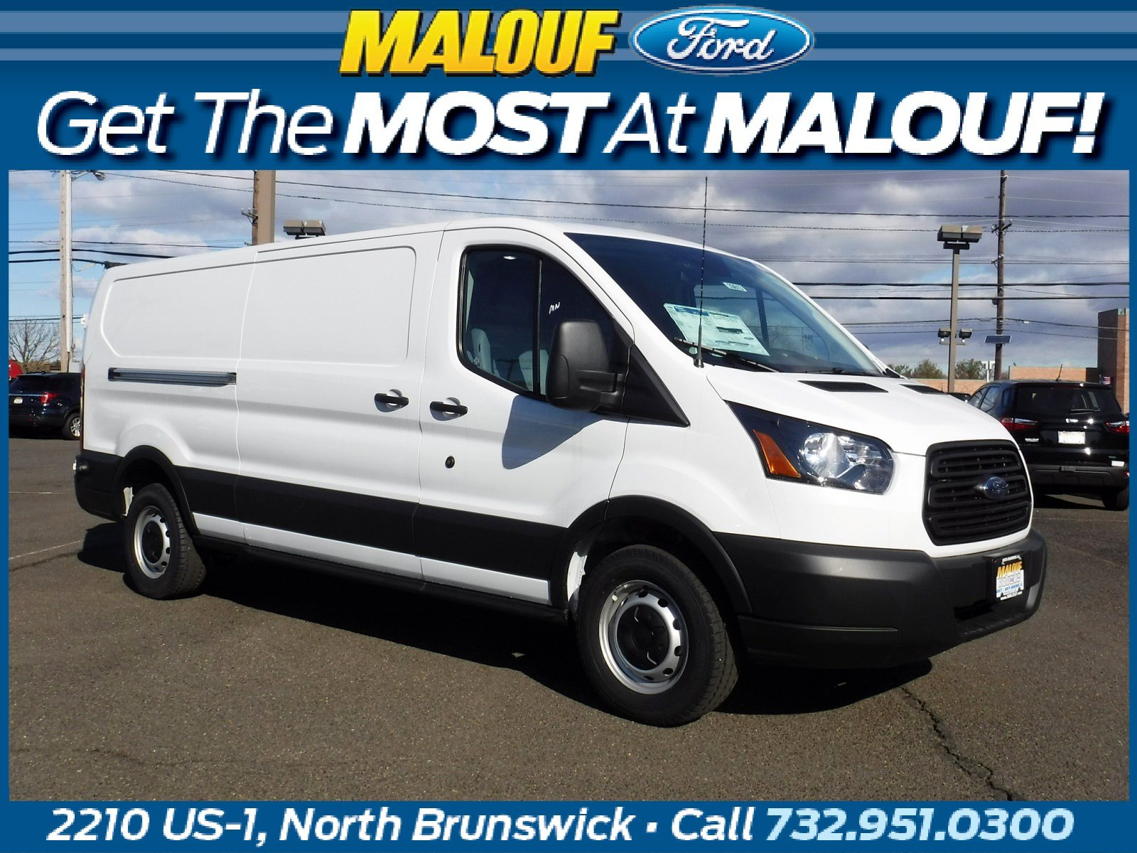 2019 Ford Transit Van Base w/Sliding Pass-Side Cargo Door Van Low Roof Cargo Van