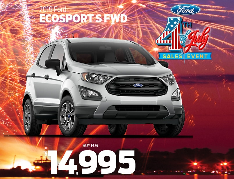 Ford Dealers Nj >> 2019 Ford Ecosport Special From Malouf Ford Ford Dealer Nj