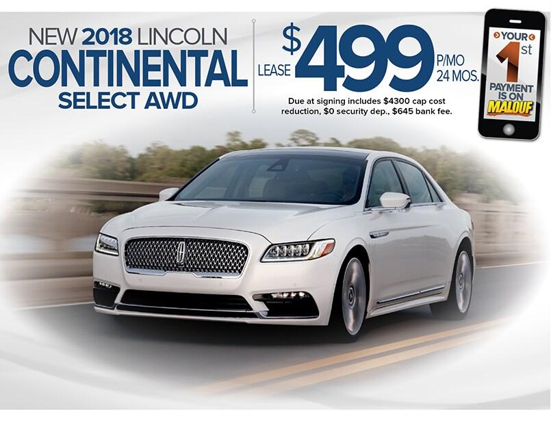 Malouf Lincoln New Lincoln Dealership In North Brunswick Nj 08902