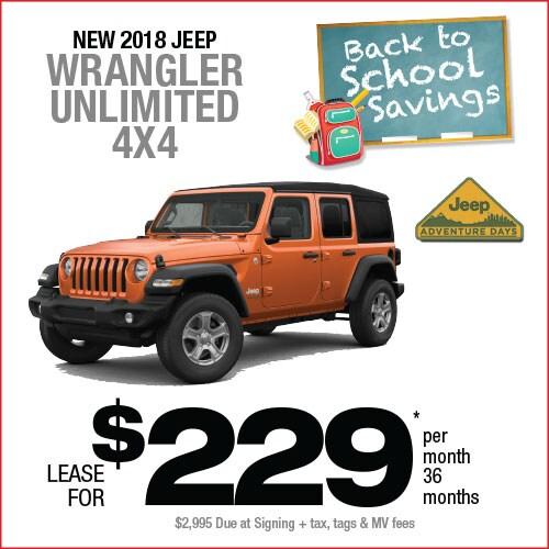 Jeep Wrangler Lease >> Wrangler Lease Manahawkin Chrysler Dodge Jeep Ram