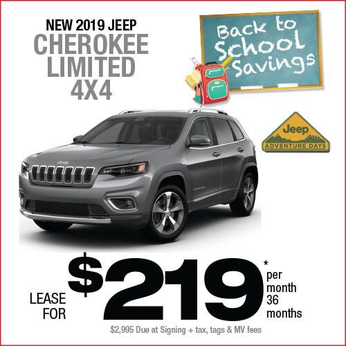 Jeep Cherokee Lease >> Cherokee Lease Manahawkin Chrysler Dodge Jeep Ram