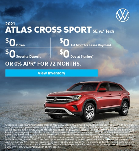 2021 Atlas Cross Sport SE w/ Tech