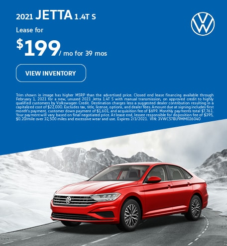 2021 Jetta 1.4T S