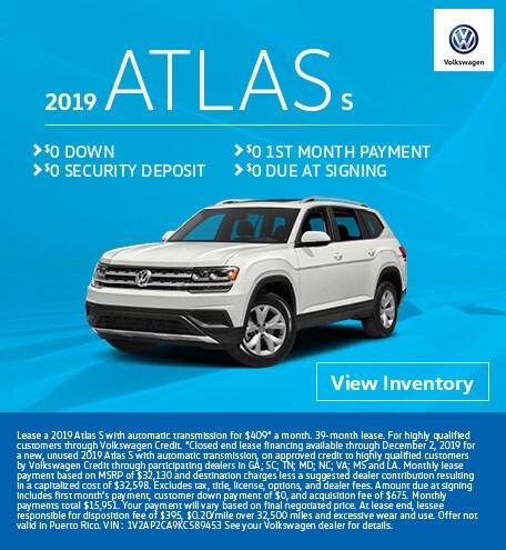 2019 Atlas S