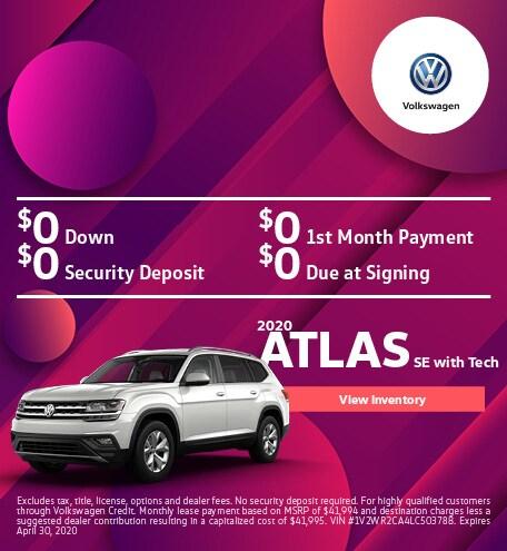 2020 Atlas SE with Tech
