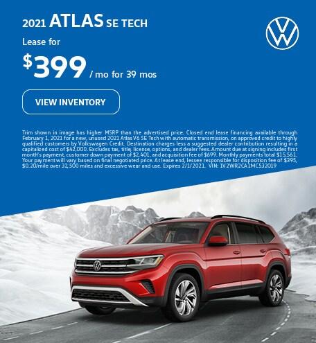 2021 Atlas SE Tech