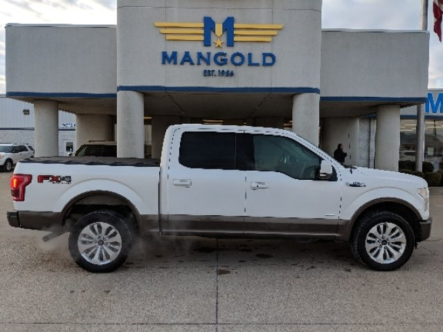 Featured Used 2015 Ford F-150 Truck SuperCrew Cab for Sale in Eureka, IL at Mangold Ford