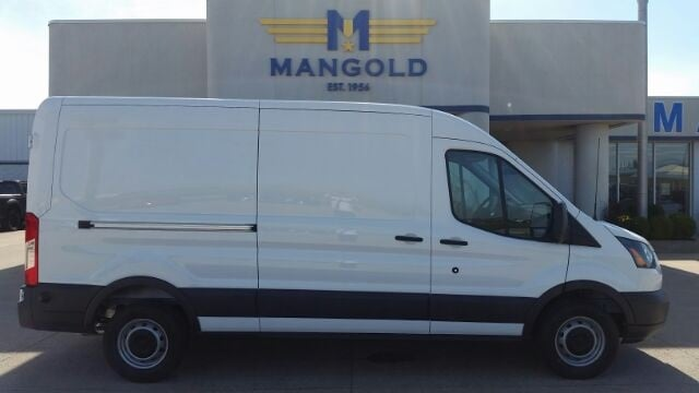 Featured New 2018 Ford Transit-250 Base w/Sliding Pass-Side Cargo Door Van for Sale in Eureka, IL at Mangold Ford