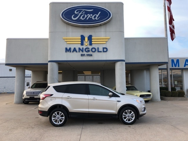 Featured Used 2017 Ford Escape SE SUV for Sale in Eureka, IL at Mangold Ford