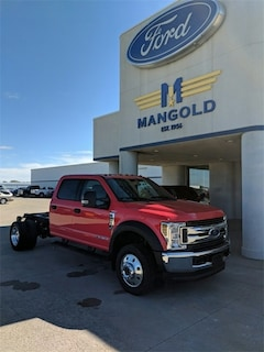New 2018 Ford F-450 Chassis Truck Crew Cab 1FD0W4HT6JEC88076 for Sale in Eureka, IL at Mangold Ford