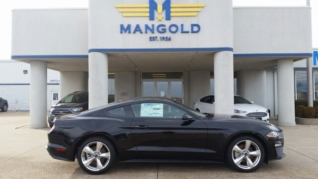 Featured New 2018 Ford Mustang Ecoboost Coupe for Sale in Eureka, IL at Mangold Ford