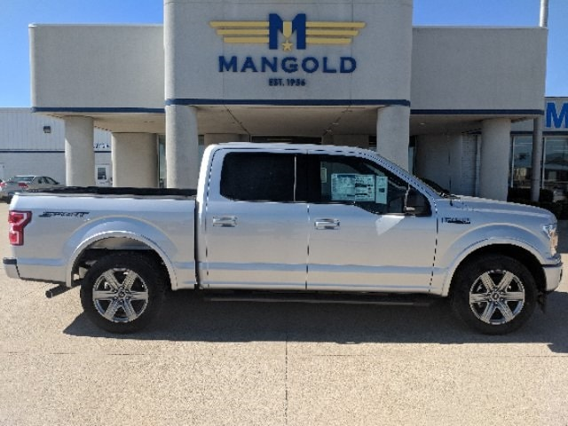 Featured New 2018 Ford F-150 Truck SuperCrew Cab for Sale in Eureka, IL at Mangold Ford
