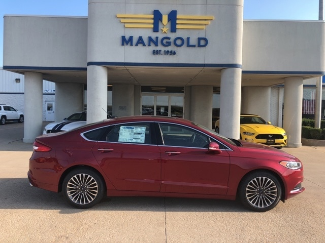 Featured New 2018 Ford Fusion SE Sedan for Sale in Eureka, IL at Mangold Ford