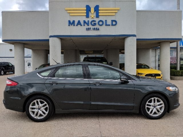 Featured Used 2015 Ford Fusion SE Sedan for Sale in Eureka, IL at Mangold Ford