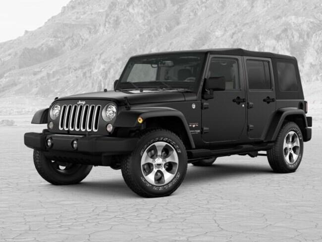 2018 Jeep Wrangler JK UNLIMITED SAHARA 4X4 Sport Utility