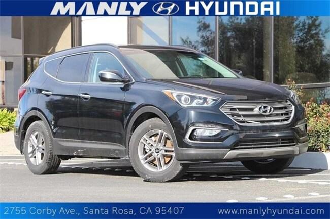 New 2017 Hyundai Santa Fe Sport 2.4L SUV in Santa Rosa