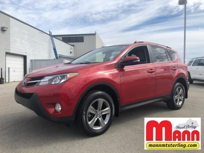 Used 2015 Toyota Rav4 Awd 4dr Xle For Sale Mt Sterling Ky