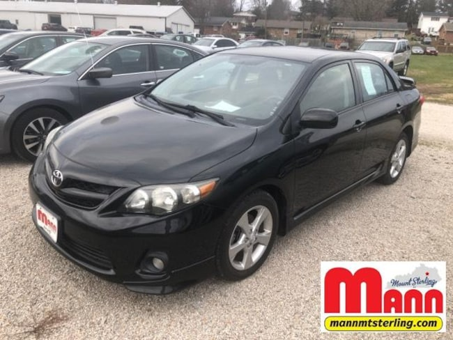 Used 2013 Toyota Corolla 4dr Sdn Auto S For Sale Mt Sterling Ky