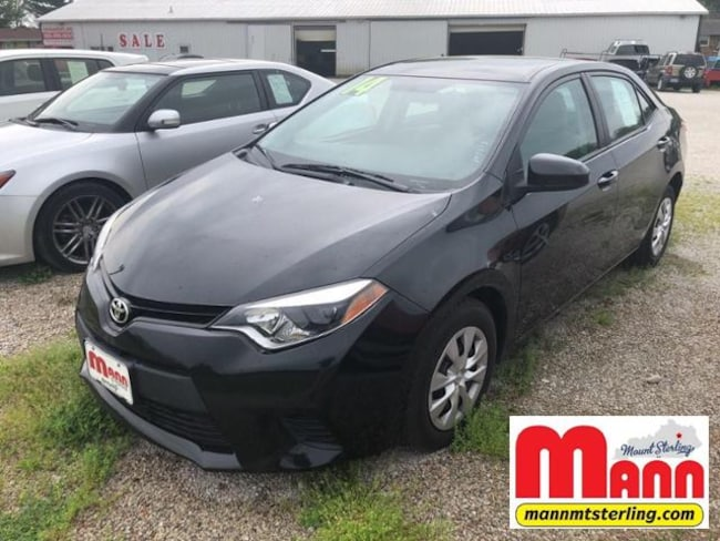 Used 2014 Toyota Corolla 4dr Sdn Auto L For Sale Mt Sterling Ky