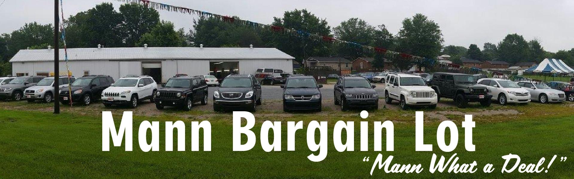 Mann Bargain Lot Mann Chrysler Dodge Jeep Ram Of Mt Sterling