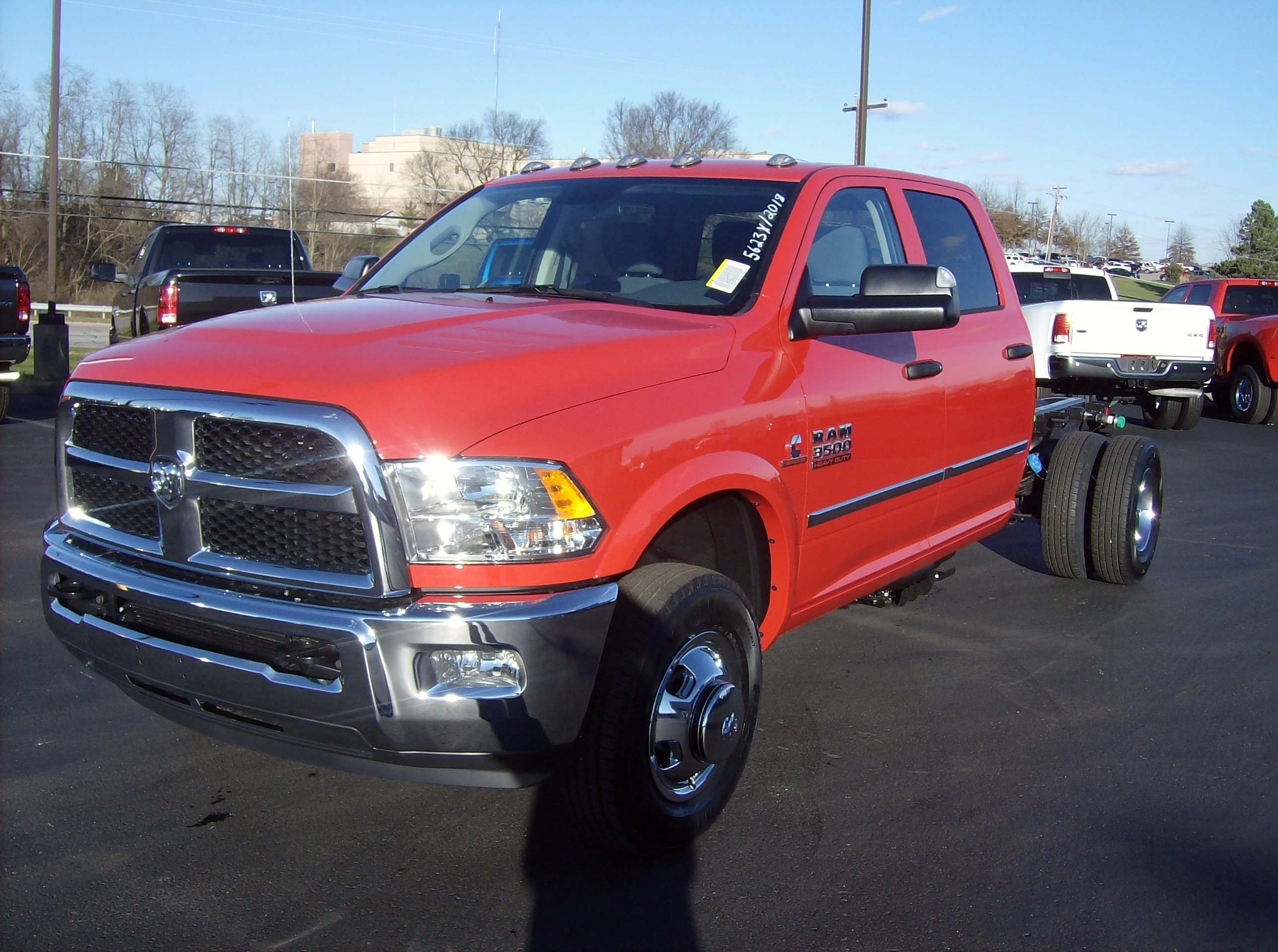 New 2018 Ram 3500 For Sale