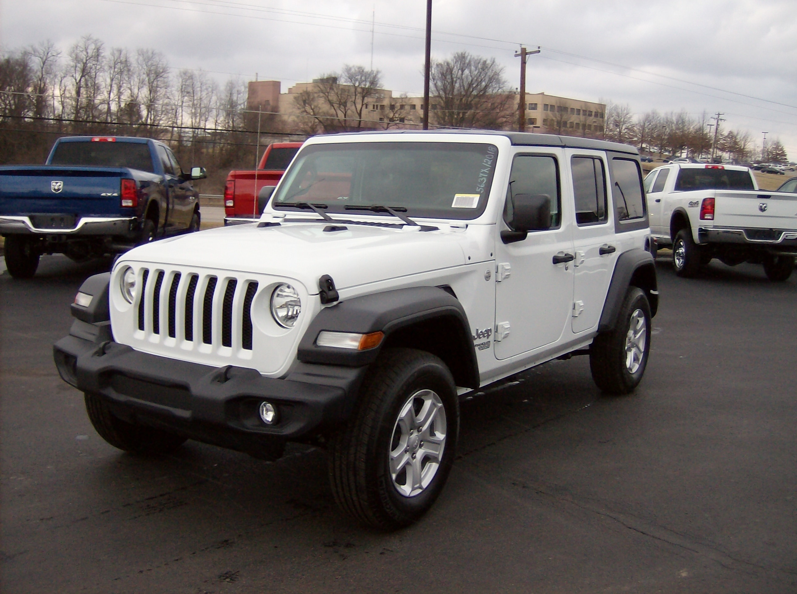 New 2018 Jeep Wrangler UNLIMITED SPORT S 4X4 For Sale