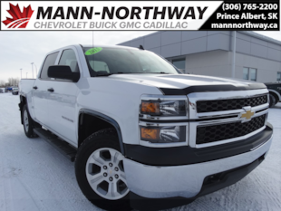 2015 Chevrolet Silverado 1500 LS | Tow Package, Cruise Control, Bluetooth. Crew Cab Pickup