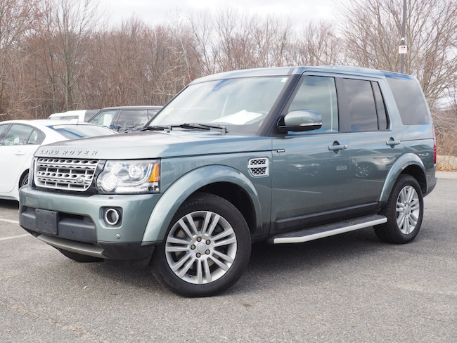 Certified Used 2015 Land Rover LR4 Base SUV For Sale Near Boston Massachusetts