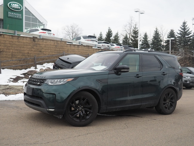 Certified Used 2017 Land Rover Discovery HSE Luxury SUV For Sale Near Boston Massachusetts
