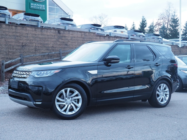 Certified Used 2018 Land Rover Discovery HSE SUV For Sale Near Boston Massachusetts