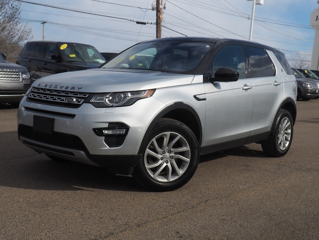 Certified Used 2017 Land Rover Discovery Sport HSE SUV For Sale Near Boston Massachusetts