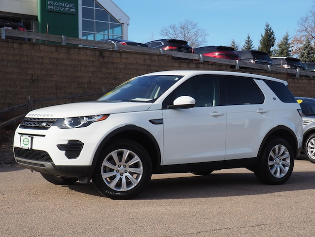 Certified Used 2018 Land Rover Discovery Sport SE SUV For Sale Near Boston Massachusetts