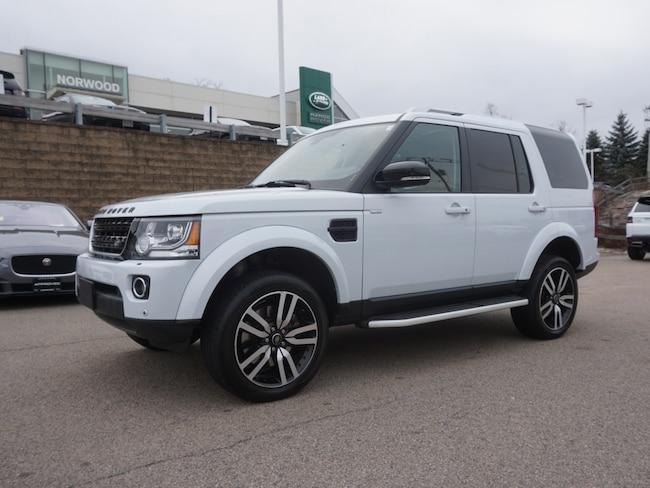 Certified Used 2016 Land Rover LR4 Base SUV For Sale Near Boston Massachusetts