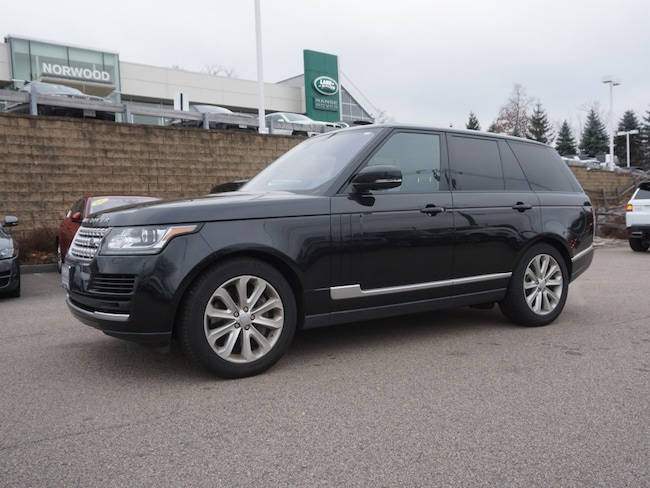 Certified Used 2016 Land Rover Range Rover 3.0L V6 Supercharged HSE SUV For Sale Near Boston Massachusetts