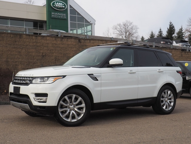 Certified Used 2014 Land Rover Range Rover Sport 3.0L V6 Supercharged HSE SUV For Sale Near Boston Massachusetts