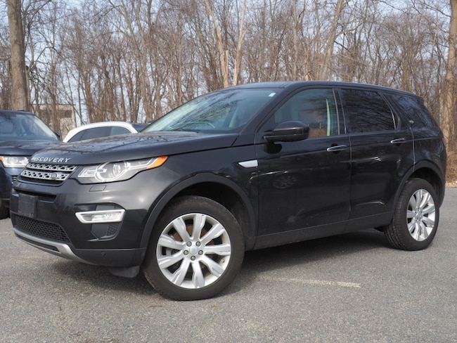 Certified Used 2016 Land Rover Discovery Sport HSE Luxury SUV For Sale Near Boston Massachusetts